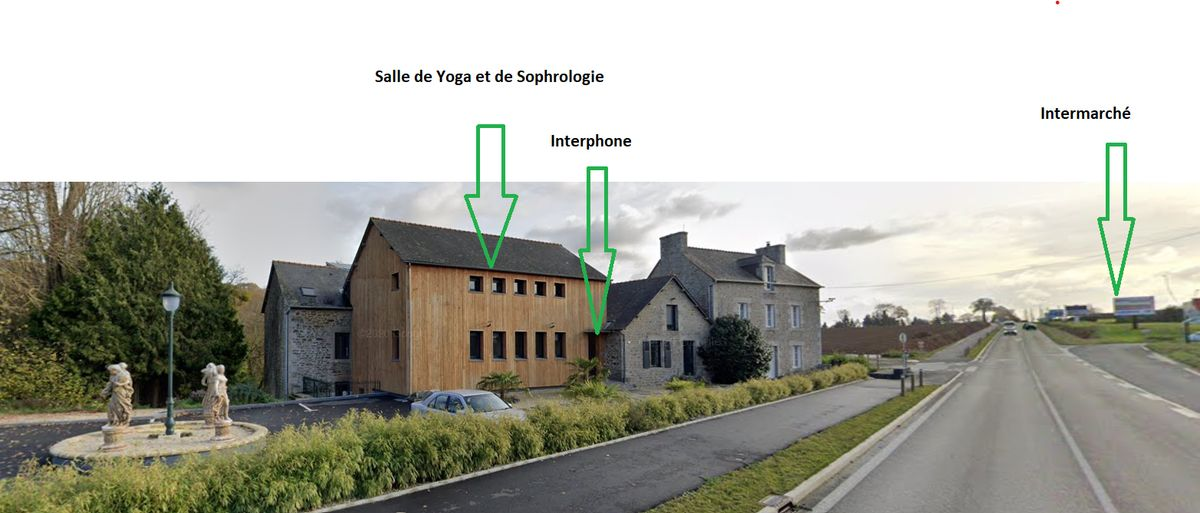 Séance collective au Moulin de Dombriand à Taden par Emeraude Sophrologie